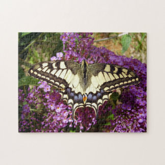 Swallowtail Butterfly Photo Puzzle with Gift Box
