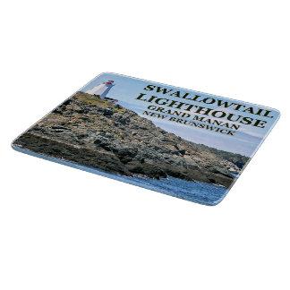 Swallowtail Lighthouse Grand Manan Cutting Board