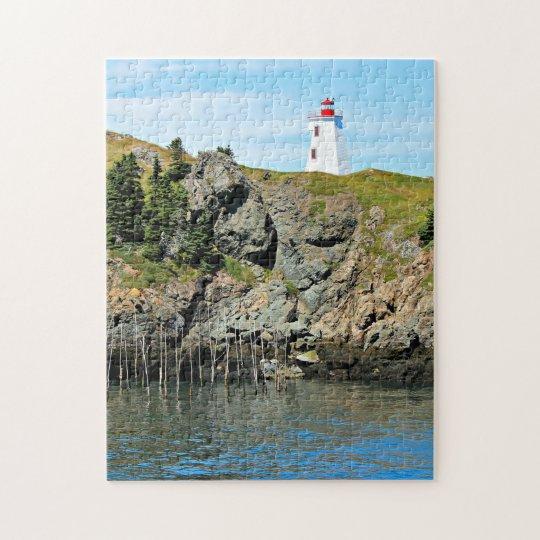 Swallowtail Lighthouse Grand Manan Jigsaw Puzzle