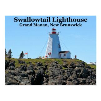 Swallowtail Lighthouse, Grand Manan N.B. Postcard