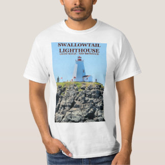 Swallowtail Lighthouse, Grand Manan, N.B. T-Shirt