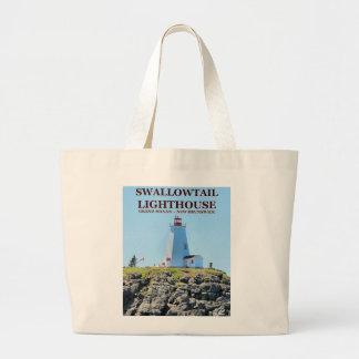 Swallowtail Lighthouse Grand Manan N.B. Tote Bag