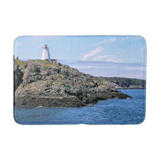 Swallowtail Lighthouse, New Brunswick Bath Mat