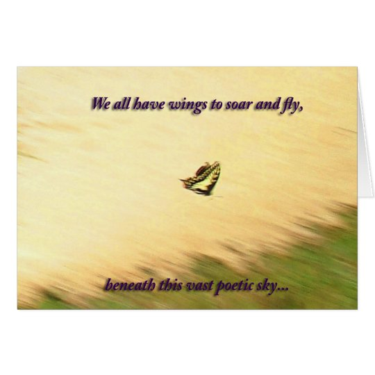 Swallowtail Monet Card
