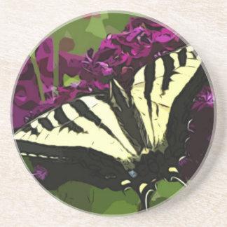 Swallowtail Sweetness Beverage Coaster