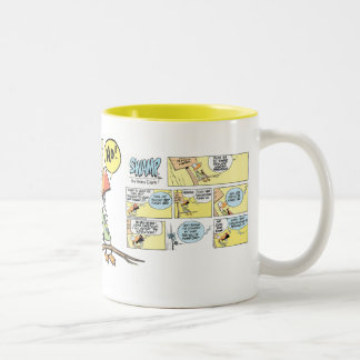 Swamp Air Traffic Control Duck Mug