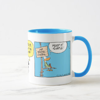 Swamp Air Traffic Controller Mug