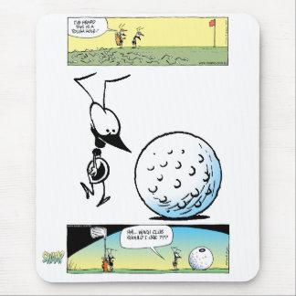 Swamp Ant Golfing Mousepad