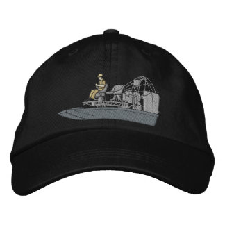 Swamp Boat Embroidered Hat