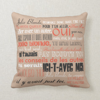 Swamp Bride - Jolie Blonde Throw Pillow