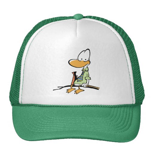 Swamp Cartoons Air Traffic Control Mesh Hats