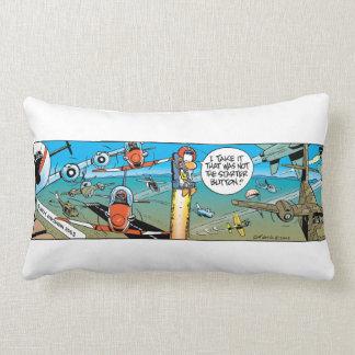 Swamp Cartoons Ejector Seat Pillow