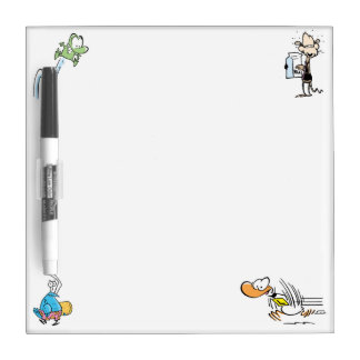 Swamp Character Dry Erase Board