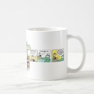 Swamp Crocodile Cartoon Coffee Mug