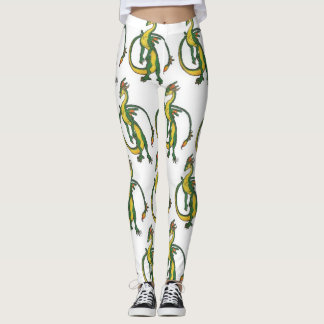 Swamp dragon leggings