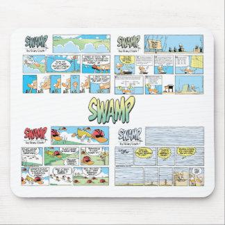 Swamp Duck Comics Mousepad