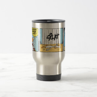 Swamp Ducks Landing Instructions Travel Mug