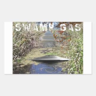 Swamp Gas Sticker
