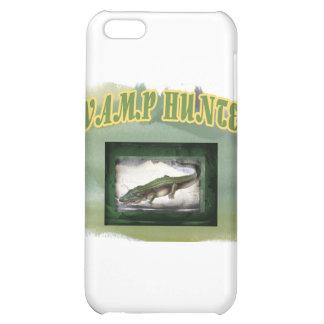 Swamp Hunter Layered Camo Gator iPhone 5C Cases