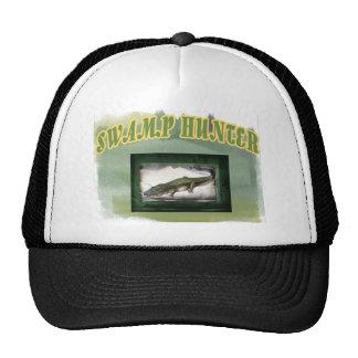 Swamp Hunter Layered Camo Gator Trucker Hat