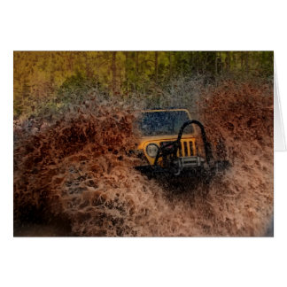 Swamp Jeeping Card