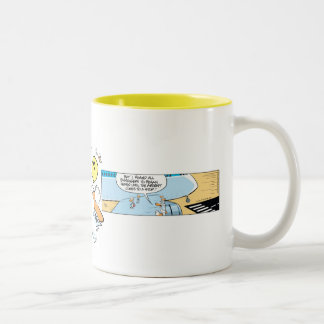 Swamp Lost in Migration Two-Tone Coffee Mug
