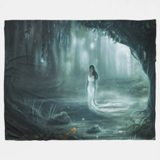 SWAMP MAIDEN FLEECE BLANKET