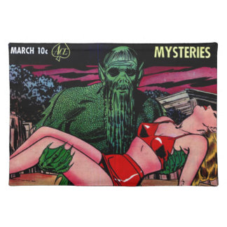 Swamp Man with Beard Placemat