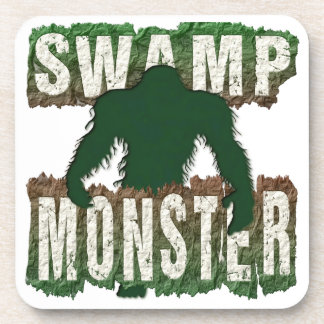 SWAMP MONSTER BEVERAGE COASTER