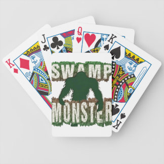 SWAMP MONSTER BICYCLE PLAYING CARDS