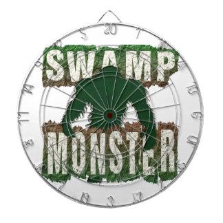 SWAMP MONSTER DARTBOARD