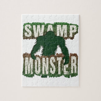 SWAMP MONSTER JIGSAW PUZZLE