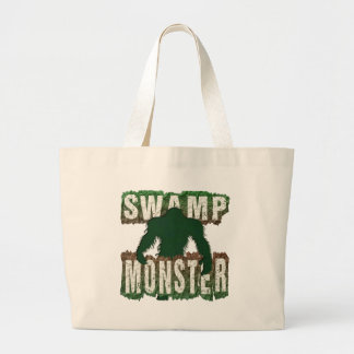 SWAMP MONSTER LARGE TOTE BAG