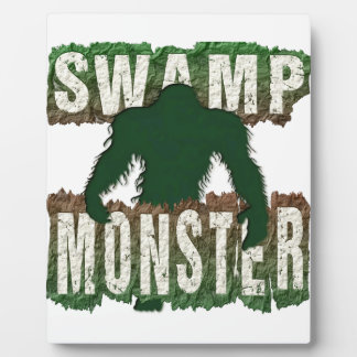 SWAMP MONSTER PLAQUE