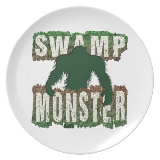 SWAMP MONSTER PLATE