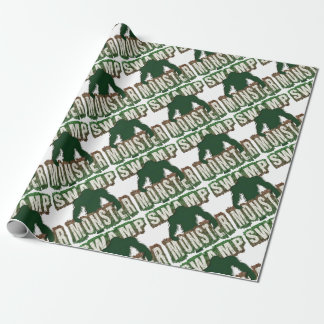 SWAMP MONSTER WRAPPING PAPER