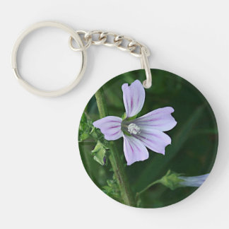 Swamp Rose Mallow Keychain