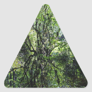 Swamp Song Triangle Sticker
