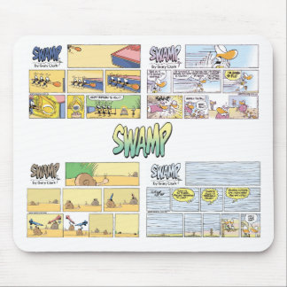 Swamp Sunday Comics Mousepad