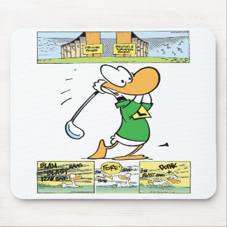 Swamp The Love of Golf Mouse Pad