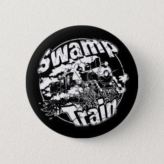 Swamp Train Round Logo 2 2 Inch Round Button