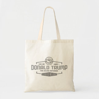 Swamp Trump for Refugees Tote Bag