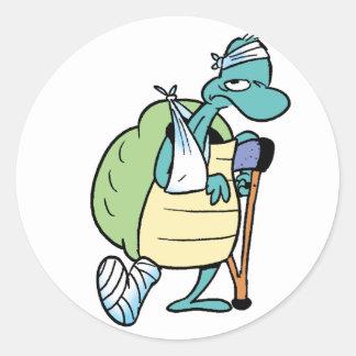 Swamp Turtle Injury Sticker
