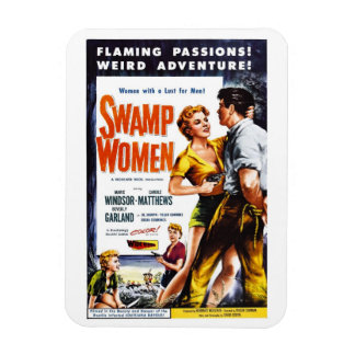 """Swamp Women"" Magnet"