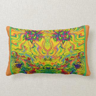 Swampy Garden Art Duo Lumbar Cushion