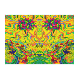 Swampy Garden DUO Ideal Medium Size Canvas Print