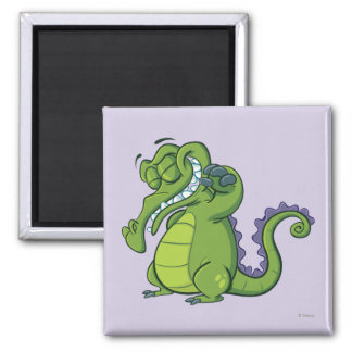 Swampy - Shower Power Square Magnet