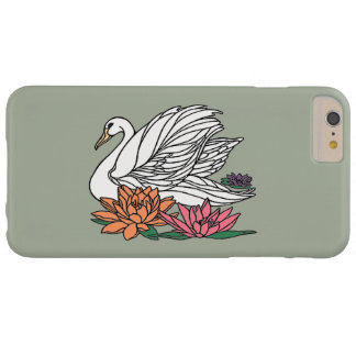 Swan 2 barely there iPhone 6 plus case