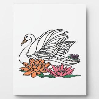 Swan 2 plaque