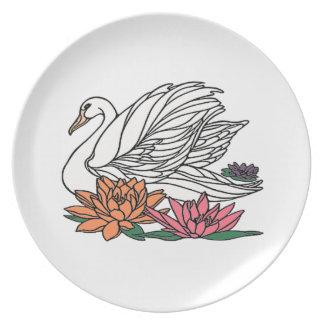 Swan 2 plate